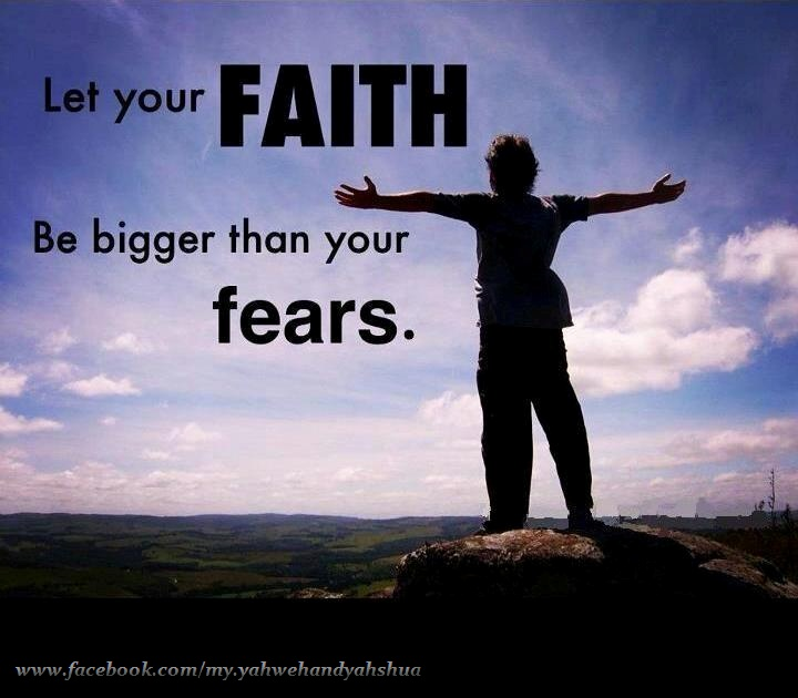 Faith vs fear bible amp christianity pinterest