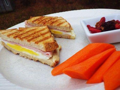 Ham, Cheese And Fried Egg Panini Recipes — Dishmaps