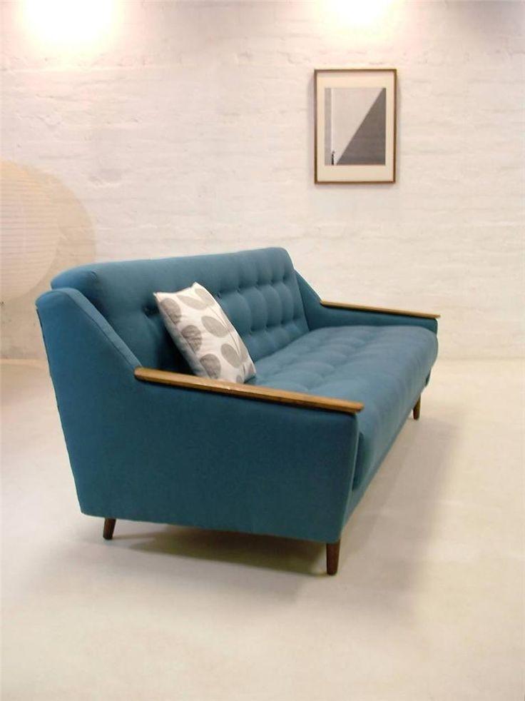 mid century danish modern sofa bed interior pinterest