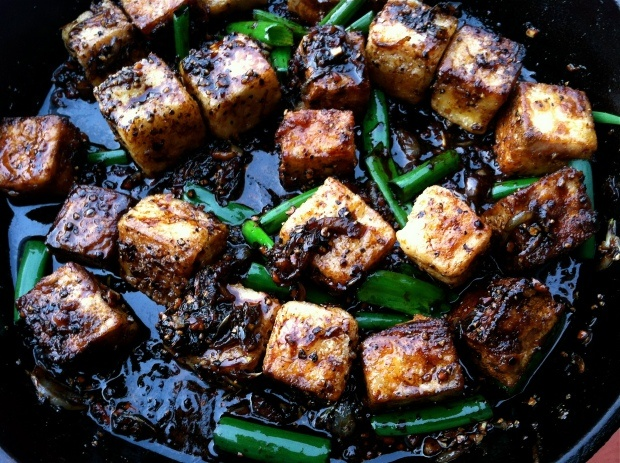 Spicy Black Pepper Tofu | Recipes I Need To Try | Pinterest