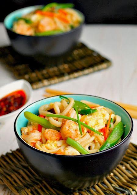 Yaki-udon ( fried udon noodles ) | Best Food Blogger Recipes | Pinter ...