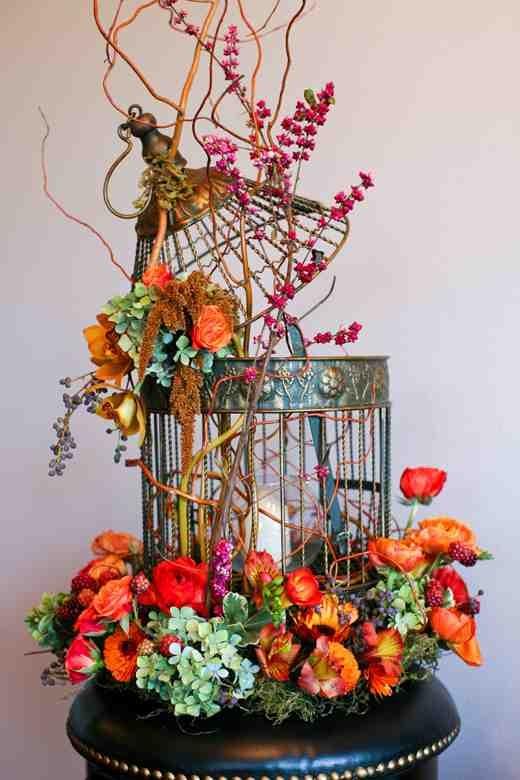 Bird cage centerpiece decor home pinterest