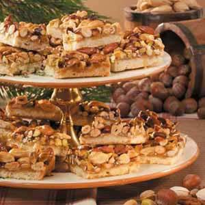 Rustic Nut Bars | Recipe