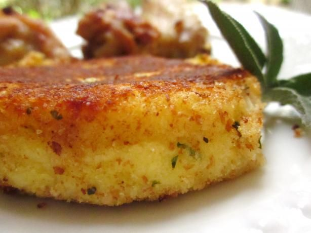 Potato Croquettes With Parmesan I made this tonight to go with some ...