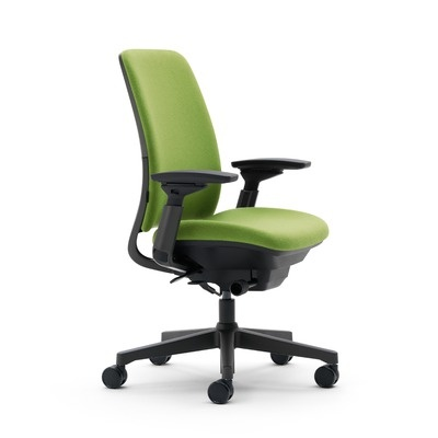 Steelcase amia mid back upholstered work chair 519
