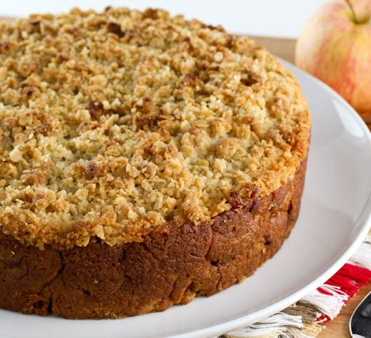 Sweet Potato Apple Crumb Coffee Cake | Baking and Cooking Blog - Evil ...