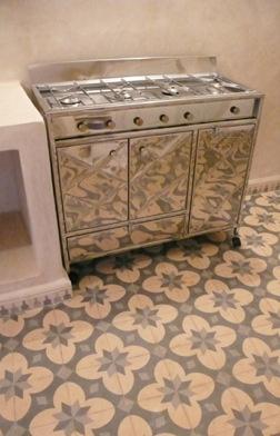 Moroccan Floor Tiles Kitchen Pinterest