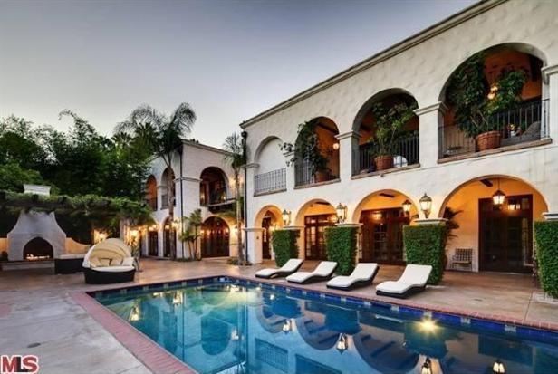 Hilary Duff's house