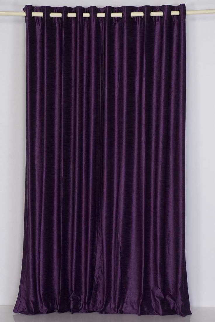 Purple Curtains For Bedroom Living Room Could See These Dark Purple Curtains In A Bedroom Or A Movie Room To