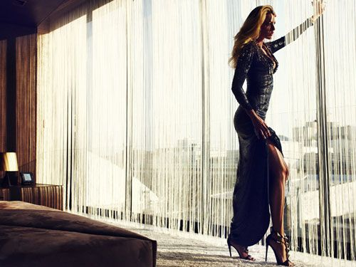 ... i guess i'll go back to the gym now. (Blake Lively looking fierce in the July issue of Marie Claire)