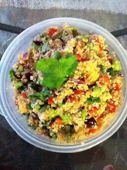 Summer Quinoa Salad | treats for the taste buds | Pinterest