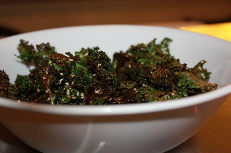 Salt & Vinegar Baked Kale Chips. All you need is Apple Cider Vinegar ...