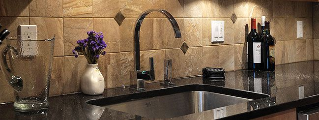 black galaxy countertop backsplash kitchen ideas pinterest