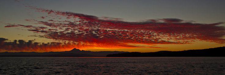 Mount Baker at Sunrise by *Anonymous-Art on deviantART