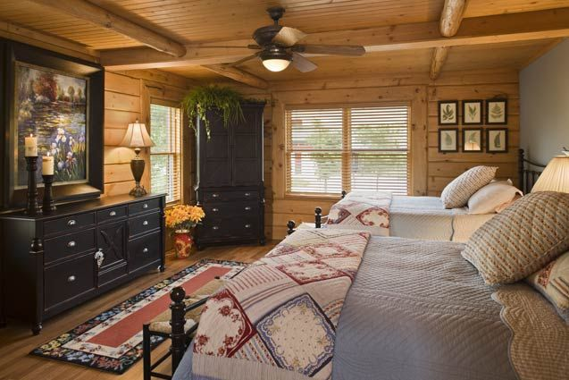 Master Bedroom Expedition Log Homes Dream Home Pinterest