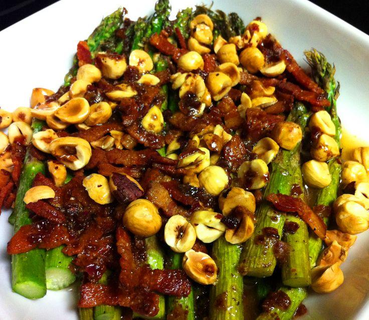 bacon asparagus | Real Food | Pinterest