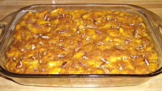 Pumpkin French Toast Bake | Menu Plan Monday | Pinterest