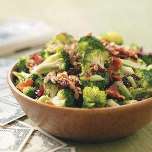 shoulder packs men Crunchy Broccoli Salad  Recipe