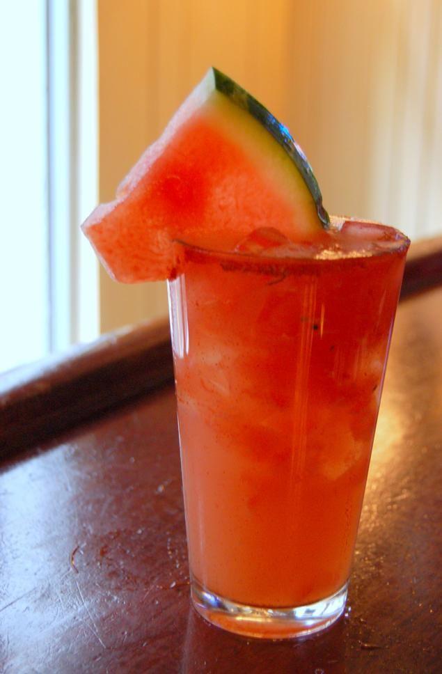 Fresh Watermelon Margarita #nationalmargaritaday