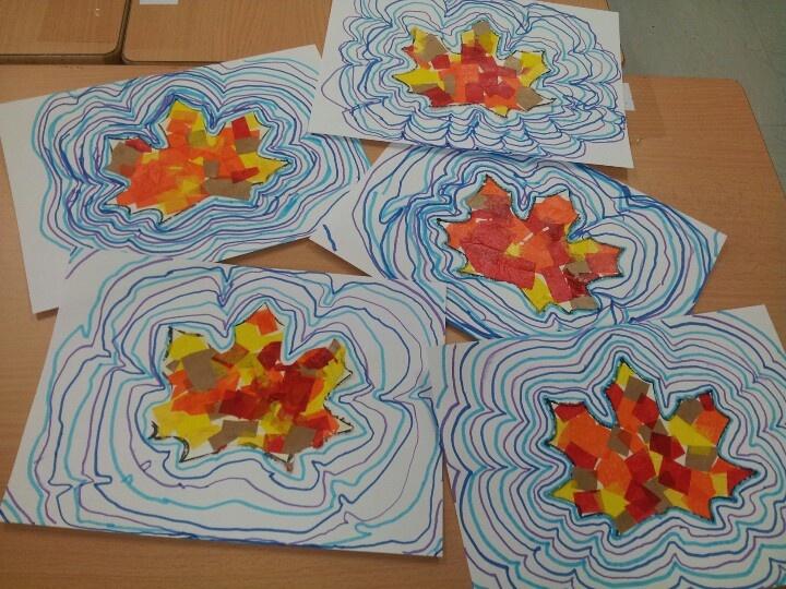 Autumn crafts school projects arts pinterest