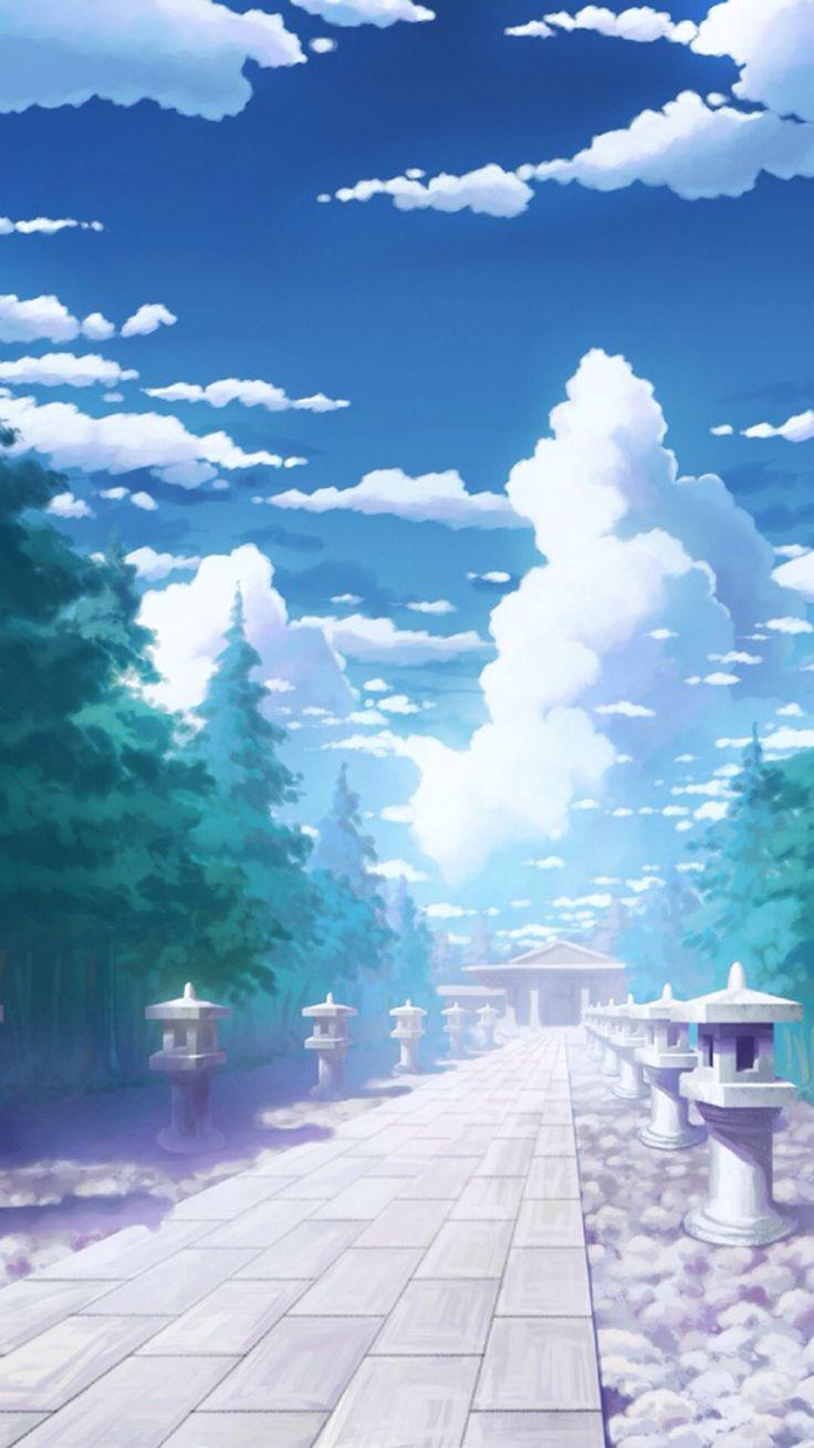 Best Anime Scenery Wallpaper Images On Pinterest