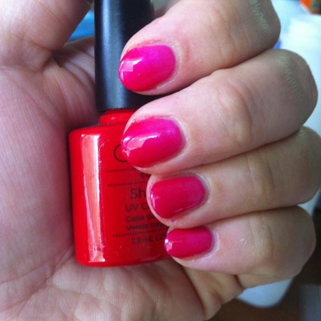 Ombré Shellac nails | Nails | Pinterest