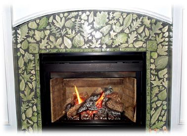 Tile Fireplace Surround Fireplace Surround Pinterest