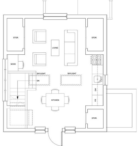 Floor Plan Upstairs 500 Sq Ft Secondary Income Pinterest