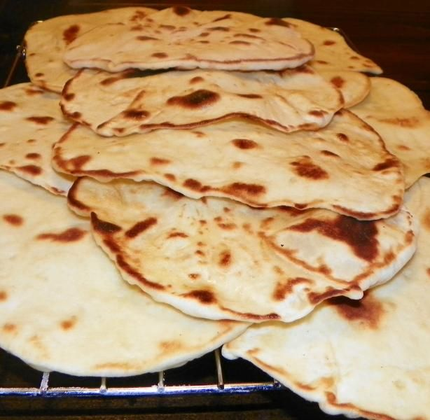 Naan Bread from Food.com: This recipe makes the best naan I have ...