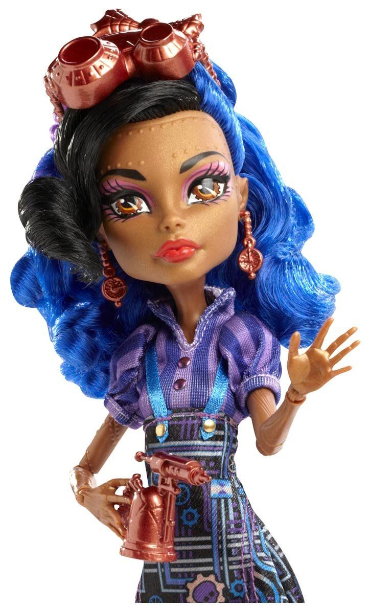 Monster high art class robecca steam doll - Monster high robecca steam ...