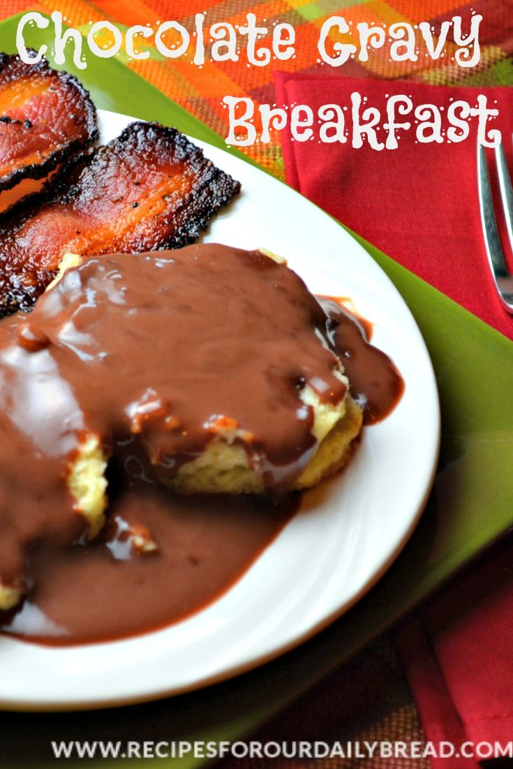 Chocolate Gravy-Recipe-Video -Chocolate gravy and biscuits is a ...