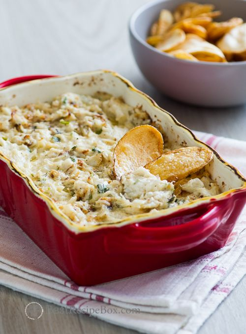 Hot Baked Crab Dip that's hot n' creamy , chunky n' delicious ...