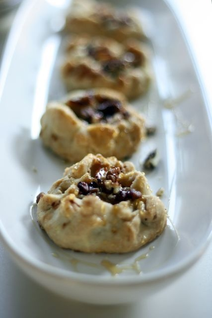 apple tarts with ricotta, honey and pecans. pepper + paint - a blog ...