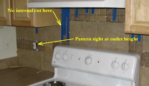 large tile backsplash google search for the home pinterest