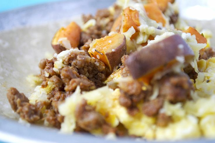 Sweet Potato and Chorizo Breakfast Tacos | Pregnancy Diet | Pinterest