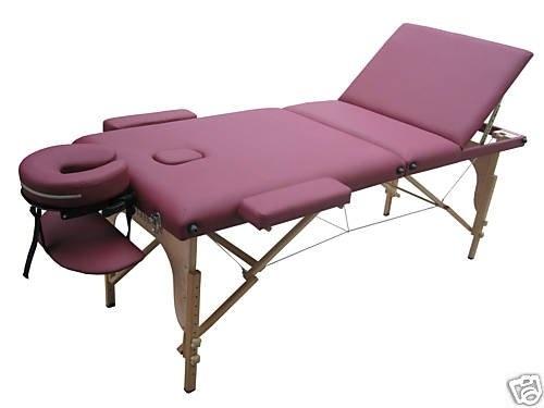 best massage portable burgundy purple byavu