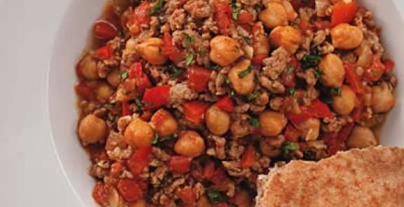 More like this: chickpeas , lambs and chilis .