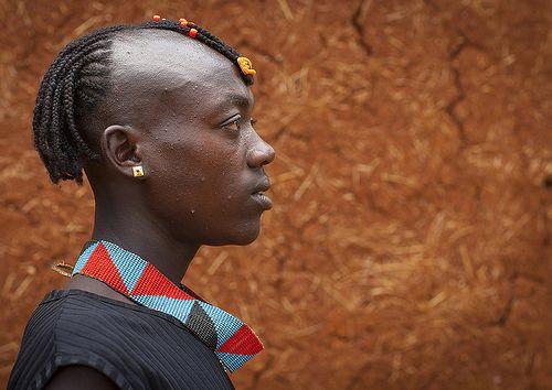 Eric Lafforgue  www.ericlafforgue.com Bana Tribe Man, Key Afer, Omo Valley, Ethiopia