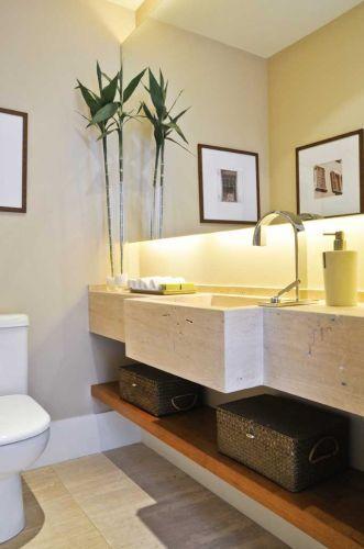 decoracao de apartamentos pequenos e charmosos : decoracao de apartamentos pequenos e charmosos:Lavabos: veja projetos charmosos para esses pequenos espaços – Casa e