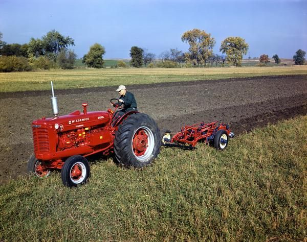 Plowing | Vintage Farm Equipment | Pinterest