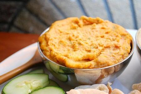 Sun Dried Tomato Hummus | Good Eats | Pinterest