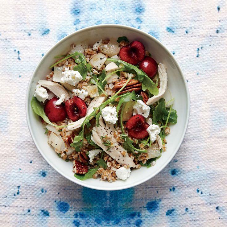 salad berry salad and wheat berry salad with lemon vinaigrette bourbon ...