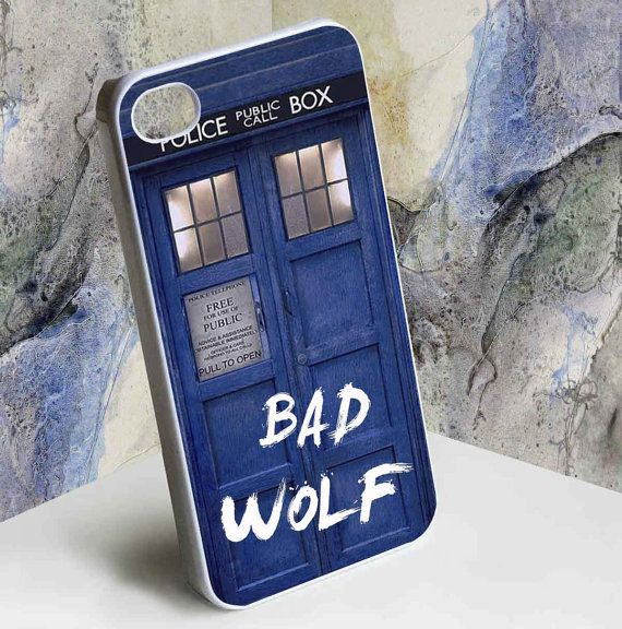 tardis dr who bad wolf by hencok, $14.00