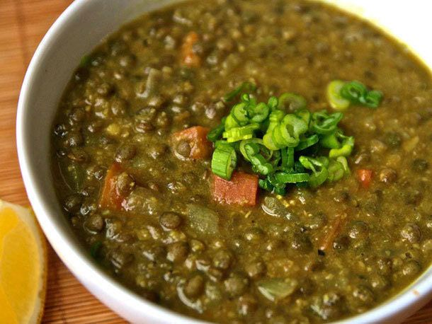 Curried Lentil Soup with Chickpea Purée | Soups | Pinterest