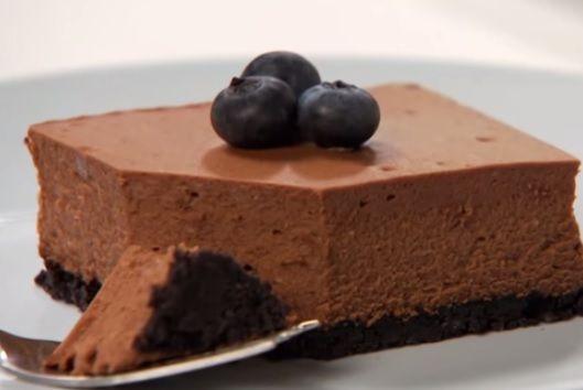 Philadelphia Double #Chocolate #Cheesecake