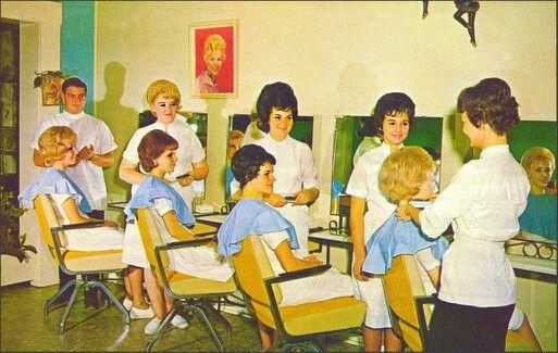 Beauty salon retro pinterest for 1950 s beauty salon