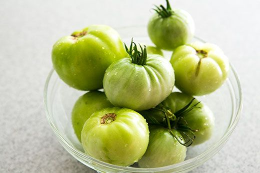 Green Tomato Chutney: Great way to use unripened tomatoes at the end ...