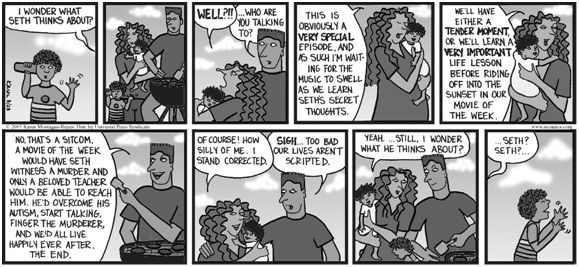 Autism comic strip no life lessons here comics autism and