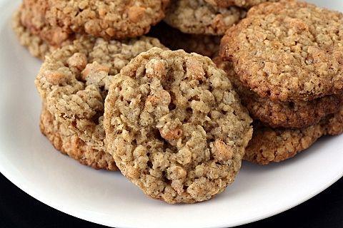 Oatmeal Butterscotch Cookies | Food | Pinterest
