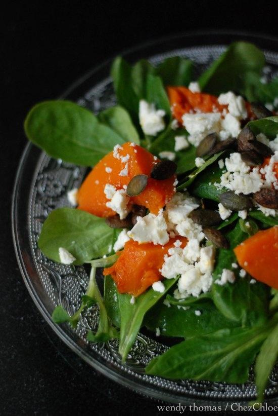 Roasted pumpkin salad | Recipes | Pinterest